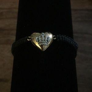 Juicy Couture bracelet gold/black